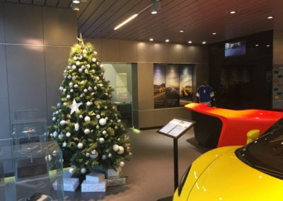 Christmas Sports Cars
